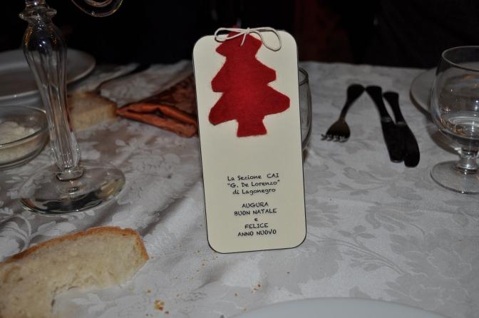 Cena sociale del 20 dicembre 2014 a Chiaromonte