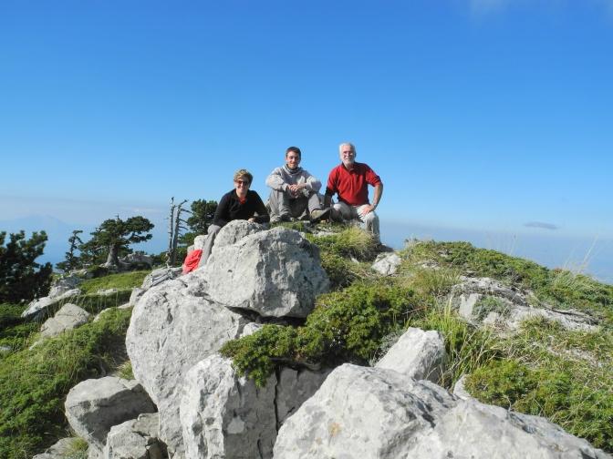 Segnatura sentieri di alta quota nel Parco Nazionale del Pollino