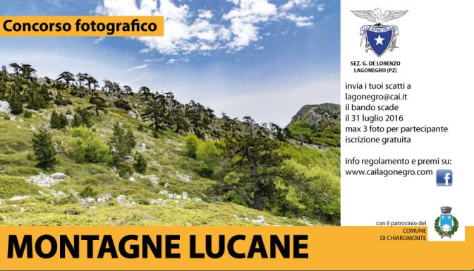 """CONCORSO DI FOTOGRAFIA """"MONTAGNE LUCANE"""""""