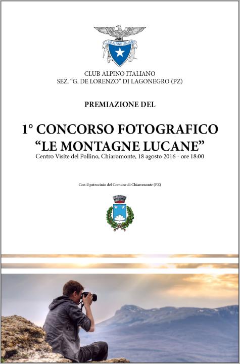 locandina premiazione concorso fotografico